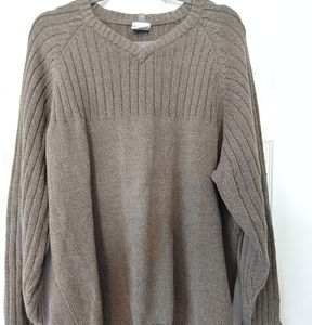 Columbia Men's V Neck Cotton Sweater